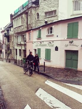 Vidinha bucólica em Montmartre